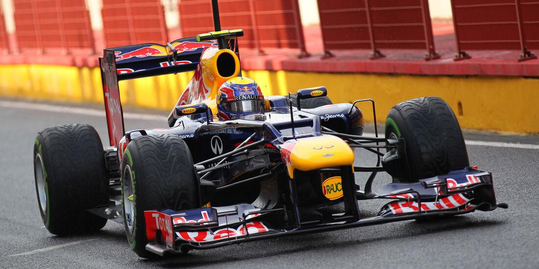 Mark Webber - Red Bull - Formel 1-Test - Mugello - 1. Mai 2012