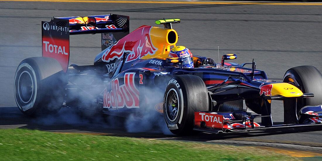 Mark Webber Red Bull GP Australien 2012