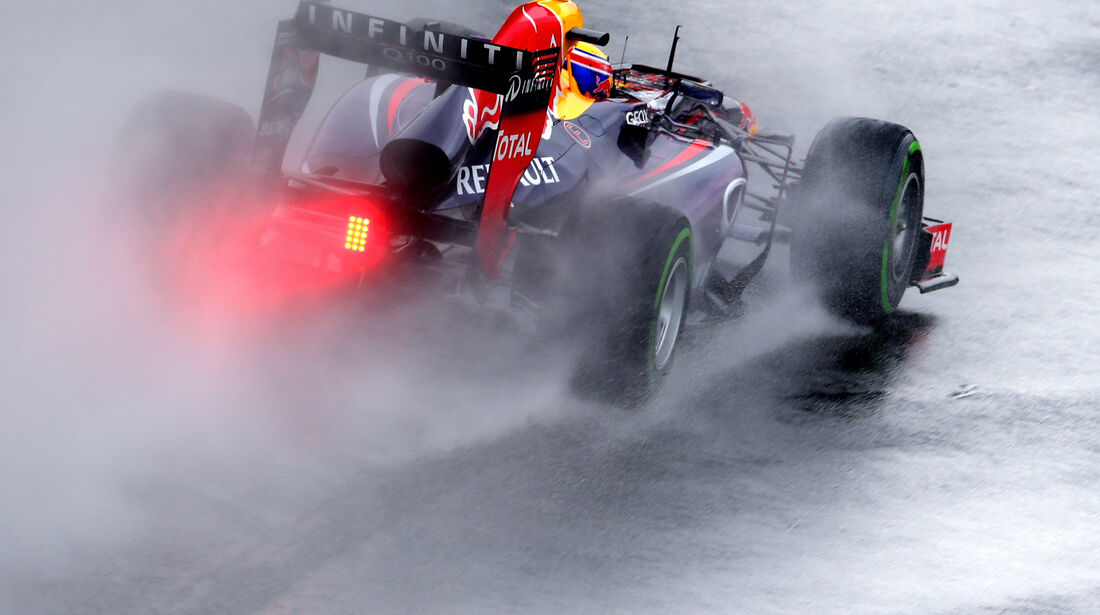 Mark Webber - Red Bull - GP Brasilien - 23. November 2013