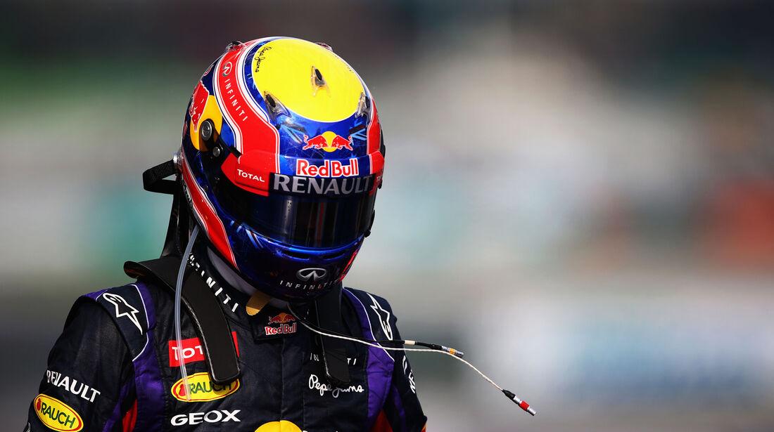 Mark Webber - Red Bull - GP Malaysia - 23. März 2013