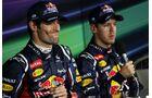 Mark Webber Sebastian Vettel - Formel 1 - GP Indien - 27. Oktober 2012