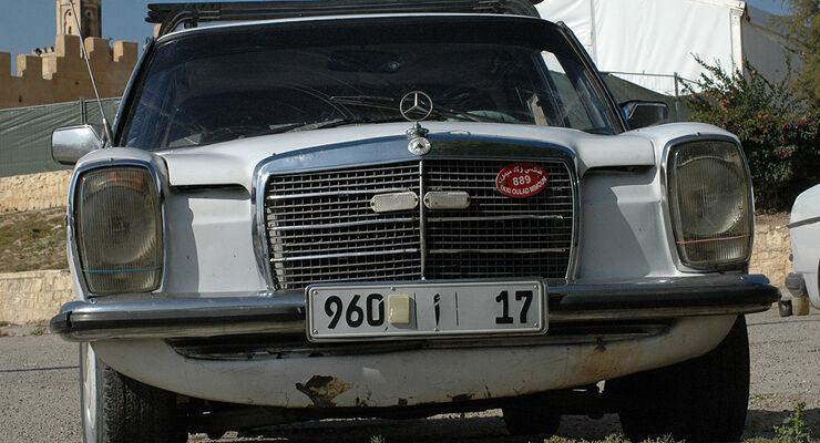 Mercedes Youngtimer In Marokko Taxi Hatz Statt Abwrackpramie Auto