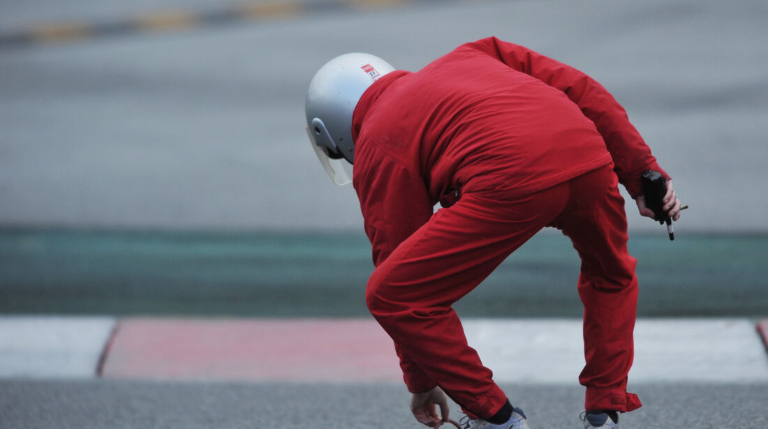 Marshall F1 Test Barcelona 2013