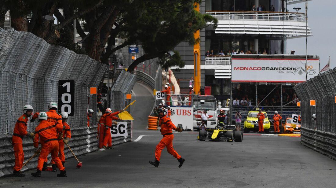 Marshalls - Formel 1 - GP Monaco - 26. Mai 2019