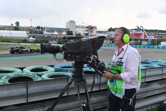 Martin Brundle - GP Ungarn 2018