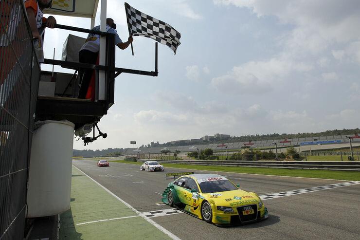Martin Tomczyk DTM Valencia 2011