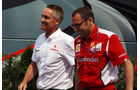 Martin Whitmarsh & Stefano Domenicali - Formel 1 - GP Ungarn - Budapest - 27. Juli 2012