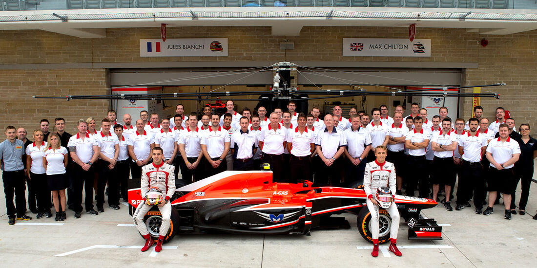Marussia F1 Team - Teamfoto 2013
