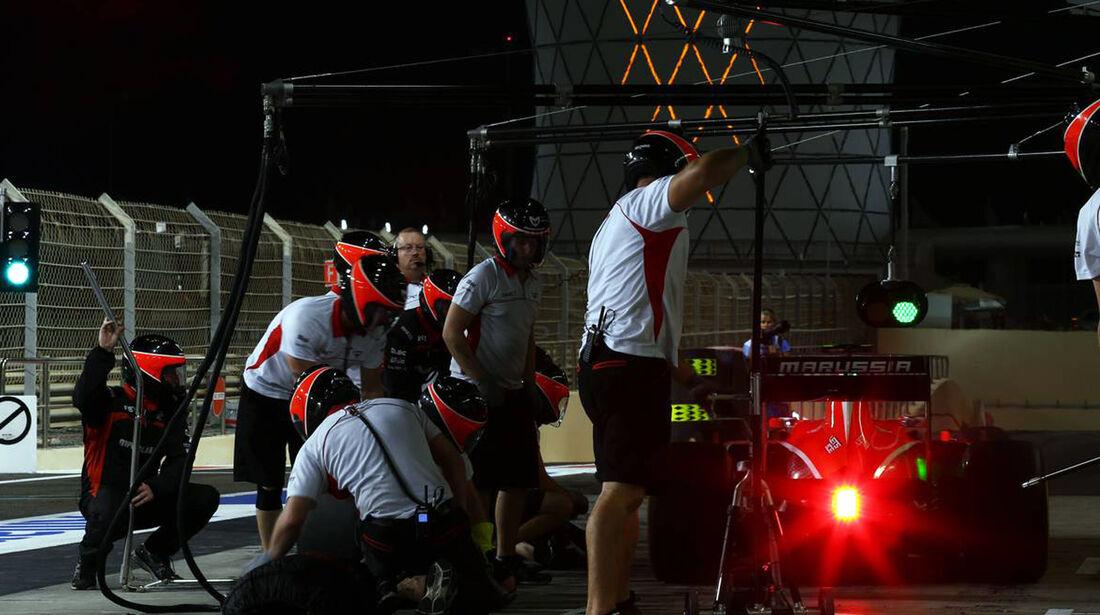 Marussia  - Formel 1 - GP Abu Dhabi - 01. November 2013
