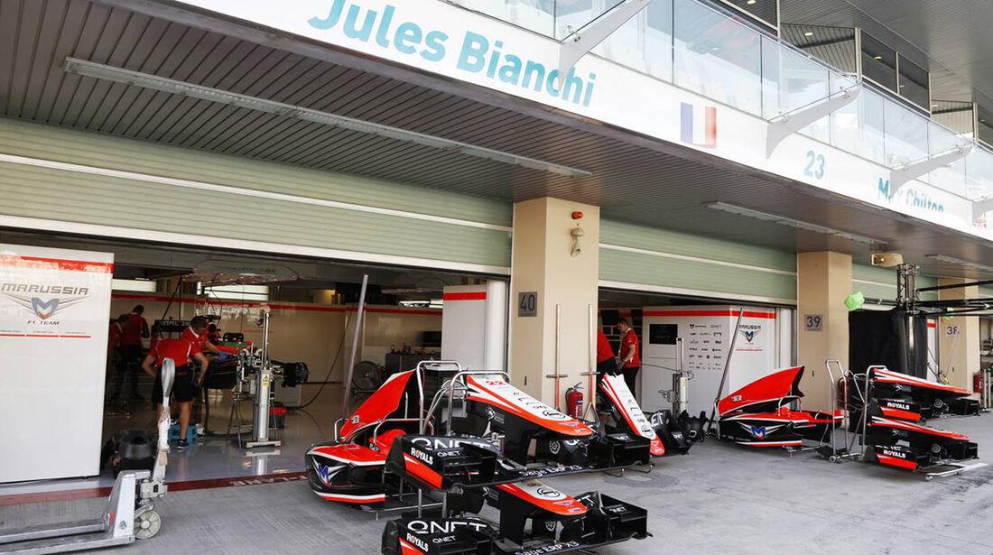 Marussia - Formel 1 - GP Abu Dhabi - 31. Oktober 2013