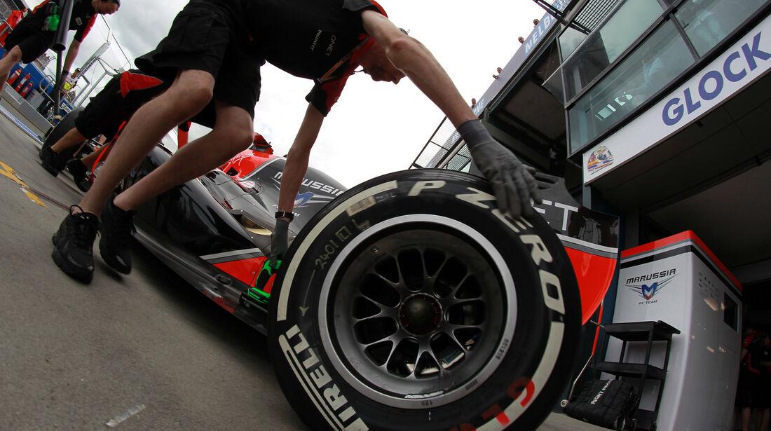 Marussia - GP Australien - Melbourne - 16. März 2012