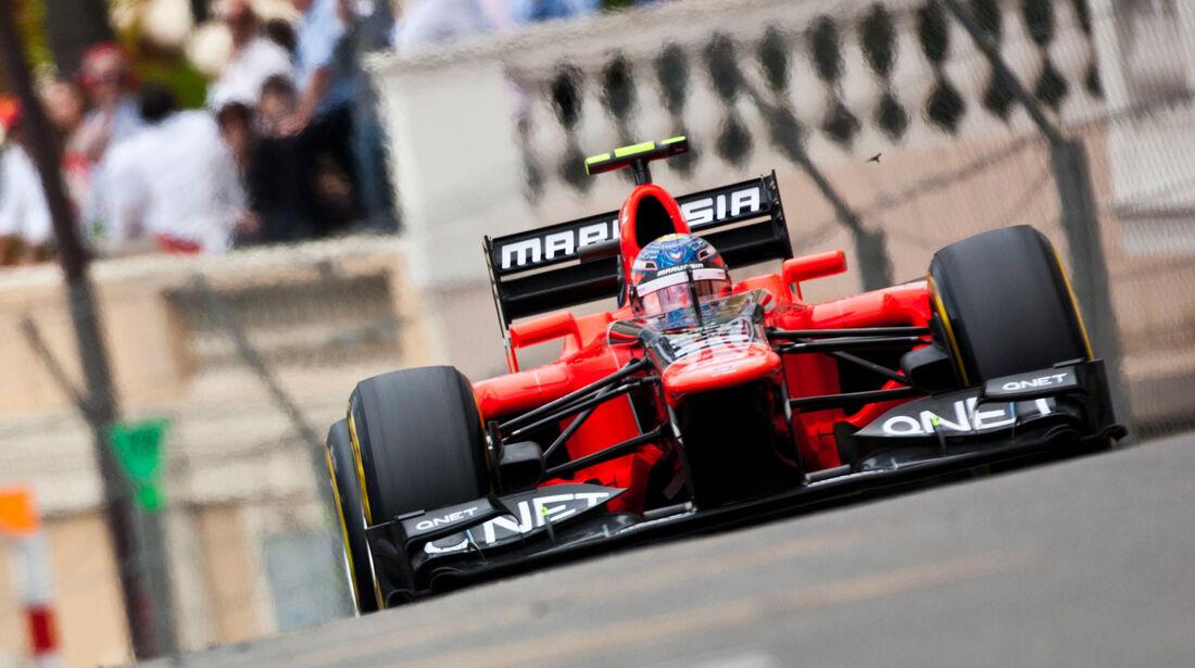Marussia GP Monaco 2012