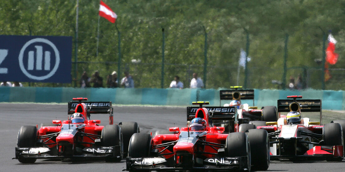 Marussia GP Ungarn 2012