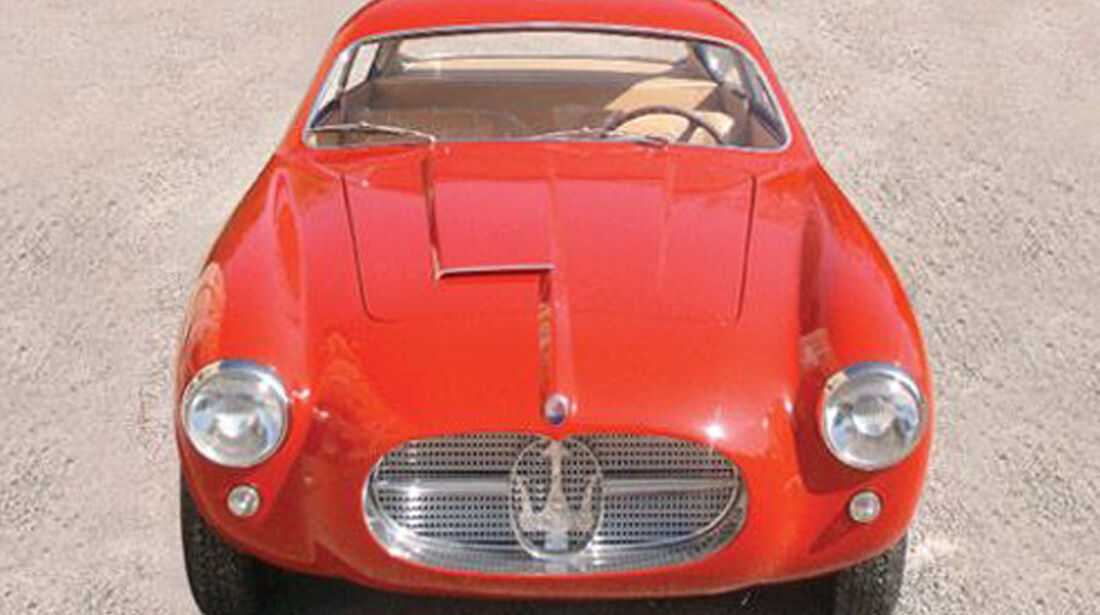 Maserati A6G 2000 Zagato Competition Berlinetta