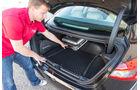 Maserati Ghibli Diesel, Kofferraum, Heckkante