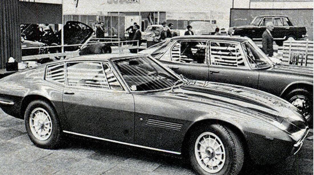 Maserati, Ghibli, IAA 1967