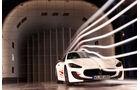 Maserati Gran Turismo MC Stradale, Frontansicht, Windkanal