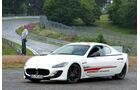 Maserati Gran Turismo MC Stradale, Seitenansicht, Nürburgring