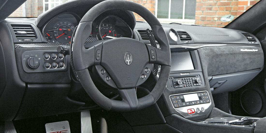 Maserati GranTurismo Sport, Cockpit, Lenkrad