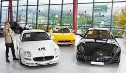 Maserati Gransport, Ferrari 355 GTS, Ferrari 612 Scaglietti F1