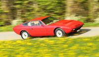 Maserati Khamsin, Seitenansicht