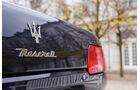 Maserati Quattroporte IV Ottocilindri Evoluzione, Schriftzug, Emblem