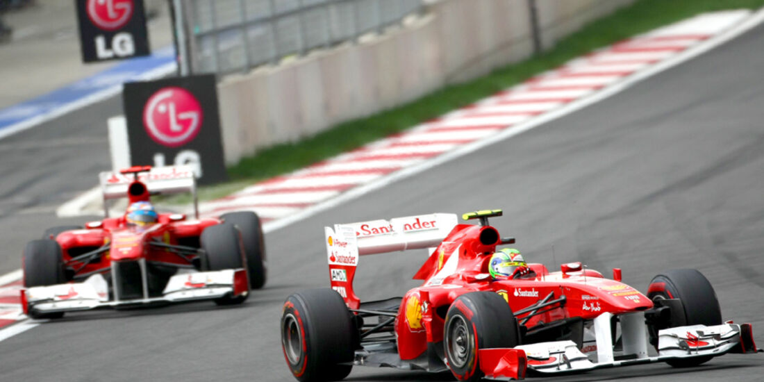 Massa & Alonso - Korea 2011