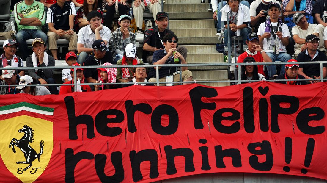 Massa-Fans - Formel 1 - GP Japan - Suzuka - 6. Oktober 2012