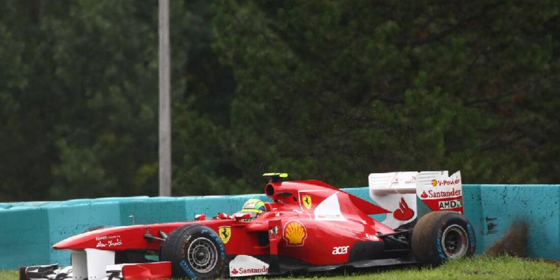 Massa - GP Ungarn - Formel 1 - 31.7.2011 - Highlights