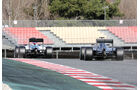 Massa & Hamilton - Williams & Mercedes - Formel 1-Test - Barcelona - 3. März 2016