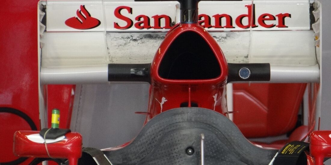 Massa Heckflügel - Formel 1 - GP Abu Dhabi - 01. November 2012