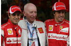 Massa, Surtees & Alonso - GP Belgien - Qualifying - 27.8.2011