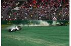 Massa vs. Kobayashi - GP Australien 2014
