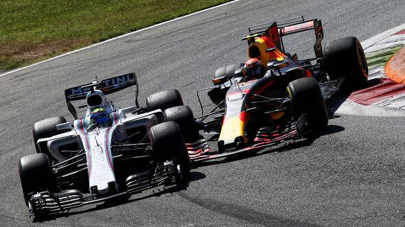 Massa vs. Verstappen - GP Italien 2017