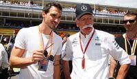 Mats Hummels - Dieter Zetsche - Formel 1 - GP Spanien - 14. Mai 2017