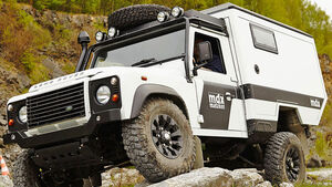 Matzker Land Rover Defender mdx Expeditionsmobil