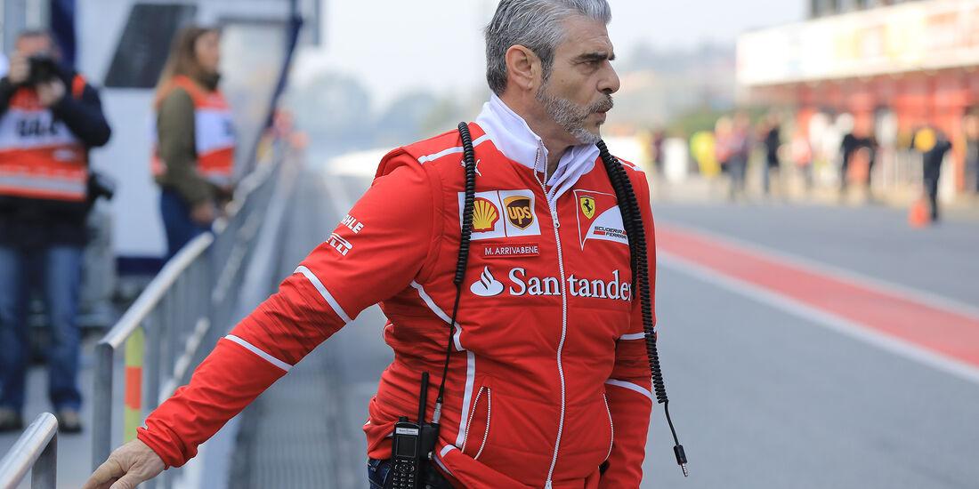 Maurizio Arrivabene - Ferrari - F1-Test - Barcelona - 27. Februar 2017