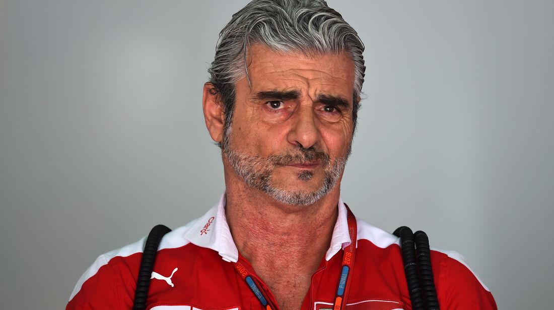 Maurizio Arrivabene - Ferrari - Formel 1 - GP Malaysia - Freitag - 30.9.2016