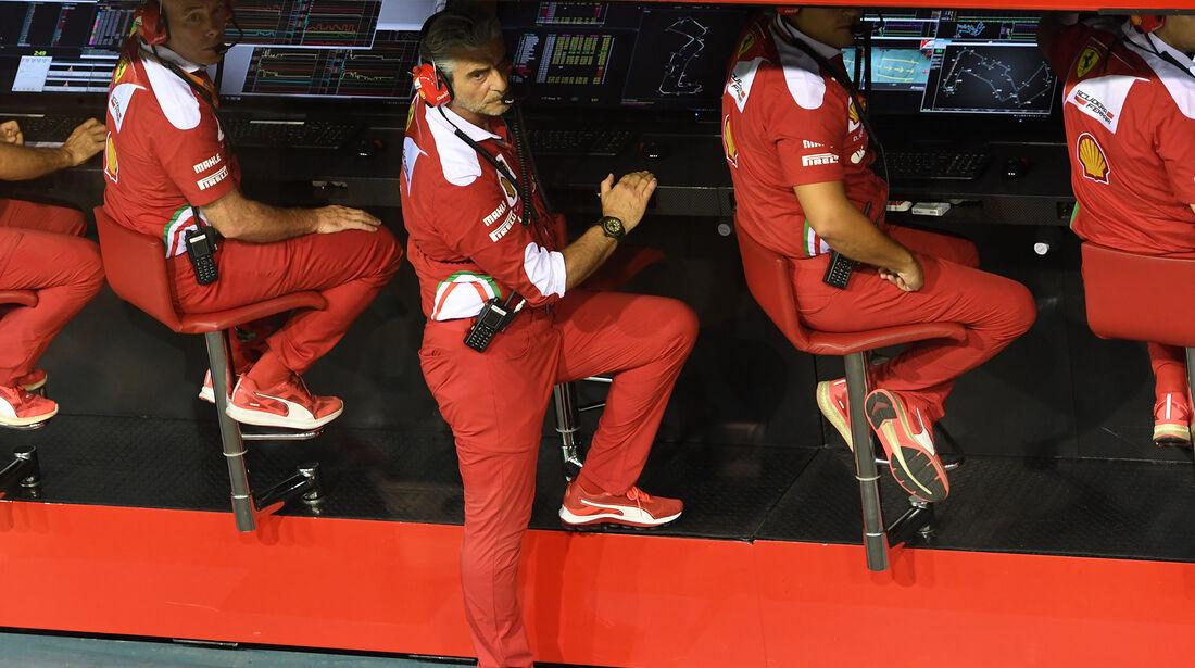 Maurizio Arrivabene - Ferrari - Formel 1 - GP Singapur - 17. September 2016