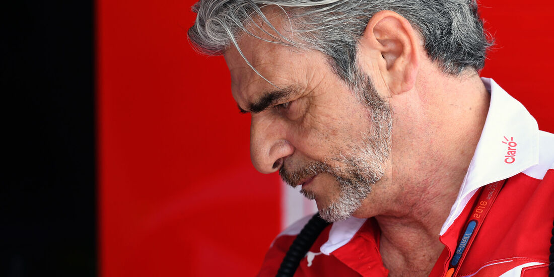 Maurizio Arrivabene - Ferrari - Formel 1 - GP Ungarn - 22. Juli 2016