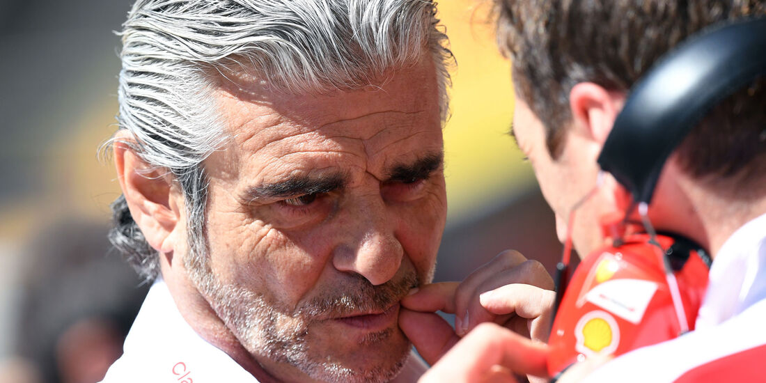 Maurizio Arrivabene - Ferrari - GP Spanien 2016 - Qualifying - Samstag - 14.5.2016
