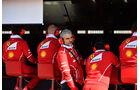 Maurizio Arrivabene - Ferrari - Testfahrten - Barcelona - Freitag - 10.3.2017