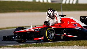 Max Chilton - Barcelona F1 Test 2013