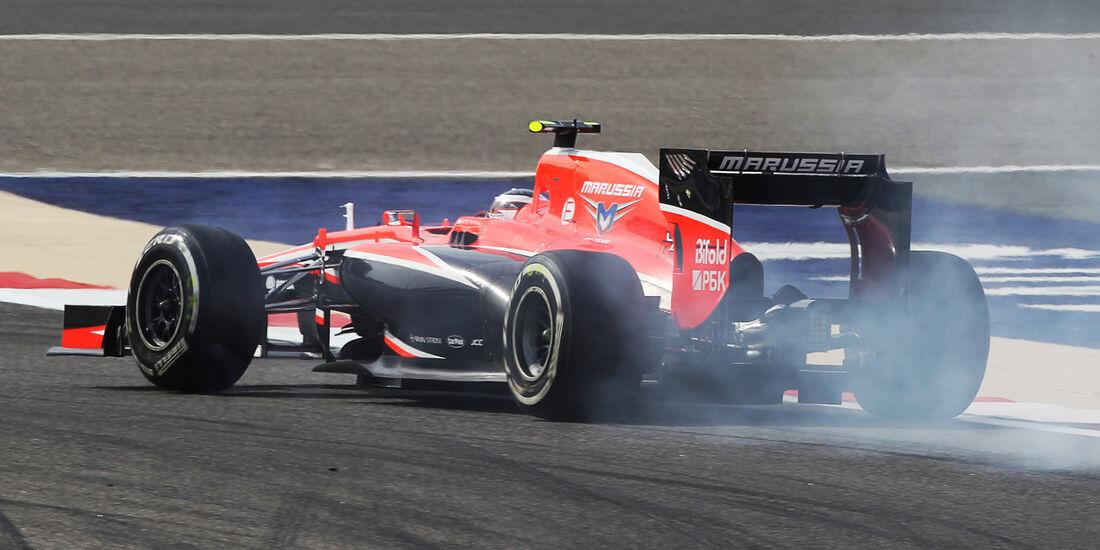 Max Chilton - GP Bahrain 2013