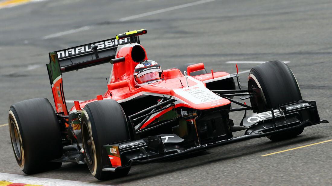 Max Chilton - GP Belgien 2013