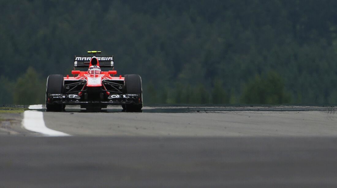 Max Chilton - Marussia - Formel 1 - GP Deuschland - 5. Juli 2013