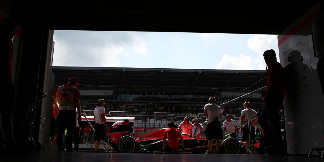 Max Chilton - Marussia - Formel 1 - GP Deutschland - 6. Juli 2013