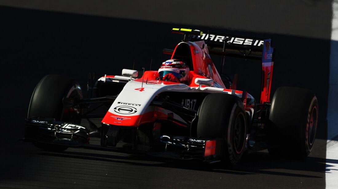 Max Chilton - Marussia - Formel 1 - GP Russland - Sochi - 10. Oktober 2014