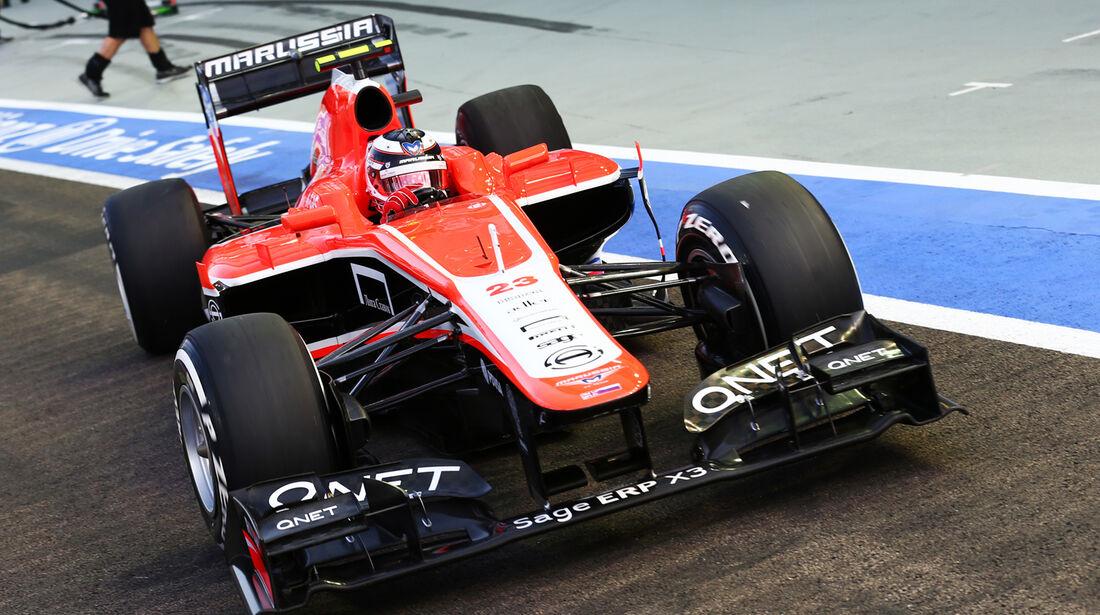 Max Chilton - Marussia - Formel 1 - GP Singapur - 21. September 2013