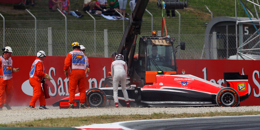 Max Chilton - Marussia - Formel 1 - GP Spanien - Barcelona - 10. Mai 2014